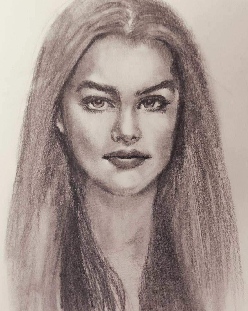 Brooke Shields by Vyas